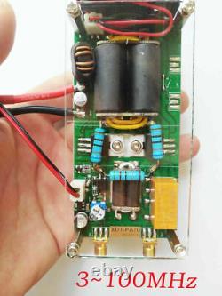 100W 3100Mhz Shortwave power amplifier HF RF amplifier for QRP FT817 KX3 WithCase