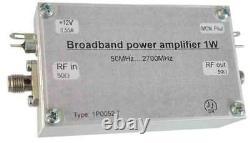 1W power amplifier broadband 50 2700MHz, 1W broadband power amplifier mini