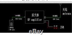 2020 80W DMR DPM RP25 C4FM UHF 410-470MHZ Ham Radio Power amplifier Interphone