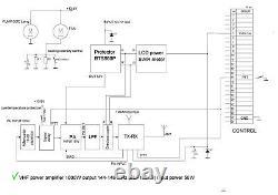 2m VHF power amplifier LDMOS 144 148 MHz 1000W