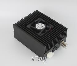 50W UHF 400-470MHZ Ham Radio Power Amplifier for Interphone DMR DPMR P25 C4FM