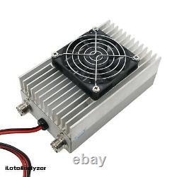 50W UHF/VHF Walkie-talkie Power Amplifier 400MHz-470MHz 130MHz-170MHz NEW