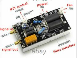 60w 3100Mhz Shortwave power amplifier HF amplifier RF for QRP FT817 KX3 + Case