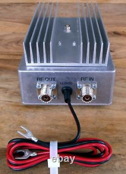 70MHz (4m) RF Power Linear Amplifier, typical 8W in 50W out. Made in Dorset UK