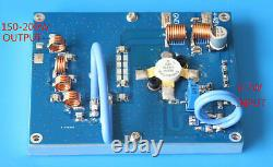 76M-108MHz 150W-200W RF FM TX Transmission Power Amplifier AMP with Heatsink
