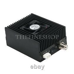 80W Ham Radio RF Amplifier 400-470MHZ DMR DPM RP25 C4FM UHF High Power 10-13.8V