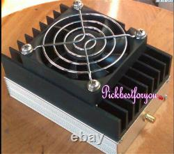 88MHz-108MHz 30W FM Power Amp amplifier transmitter 1W-1.5W input Fan #M392B QL