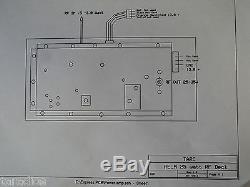 BK UNIDEN RELM RF POWER AMPLIFIER 25 Watt UHF 25W 450 470 500 Mhz DRU4501B
