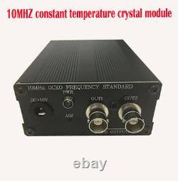 BNC/Q9 version 10MHz OCXO crystal oscillator clock frequency reference high stab