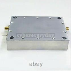 DTMB Digital TV RF Power Amplifier Linear 50-1100MHz ClassA 1W 30dBm + Heatsink