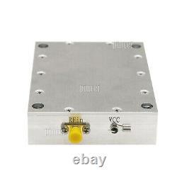 Digital TV RF Linear RF Power Amplifier 50-1100MHz Class A 1W with Heatsink