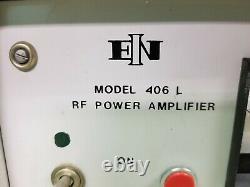 ENI 406 L RF Power Amplifier 150kHz 250MHz. P#24