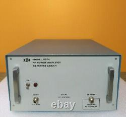 ENI 550L, RF Power Amplifier, 1.5 to 400 MHz, 50 dB, For Parts or Repair