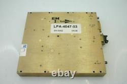 Eyal Microwave cellular RF Power Amplifier 1700-2000 MHz 10W 47dB gain Tested
