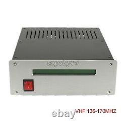 FM Power Amplifier RF Radio Frequency Amp VHF 136-170MHZ for Broadcasting #TOP