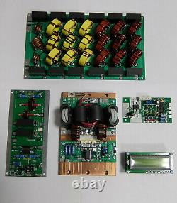 Full Kit Hf Amplifier 1200w 1.8-54mhz Ldmos Lpf With Protector