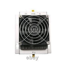 HF Radio Power Amplifier UHF 400-470MHZ 80W Ham Interphone with Heatsink & Fan