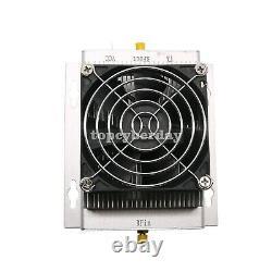 HF Radio Power Amplifier UHF 400-470MHZ 80W Interphone+Heatsink+Fan 12-15V