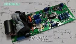 HF power amplifier 300-400W 1.8-30 MHz with transistors SD2933