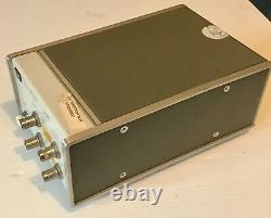 Hewlett Packard HP 8447F Preamp Power Amp 0.1-1300MHz BNC with Opn/Service Manual