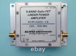 KU PA 220250-4 B, GaAs-FET Power Amplifier 2200. 2500 MHz 4 W Kuhne