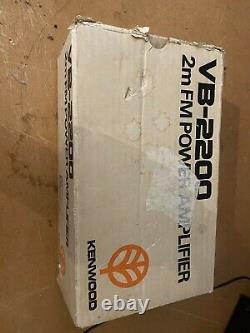 Kenwood Vb-2200 2m 144 MHz Power Amplifier
