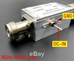 LNA 100MHz8500MHz 30dB Low Noise RF POWER amplifier FM HF VHF / UHF Ham Radio