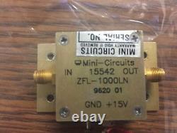 Mini-Circuits ZFL-1000LN 0.1-1000MHz 20dB SMA Low Noise Amplifier