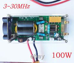 NEW 330Mhz Shortwave Power Amplifier HF Amplifier RF for QRP FT817 KX3 withCase