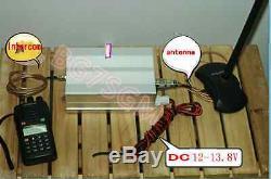 NEW 50W VHF 136-147MHZ Ham Radio Power amplifier Interphone