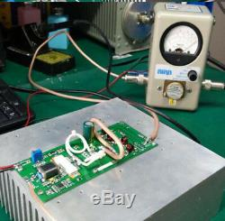 NEW 75M-175MHZ FM transmitter 150W power amplifier Rural / campus broadcasting