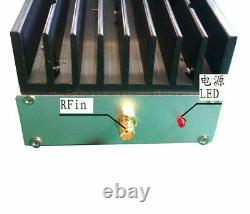 New 100KHz-70MHz 47dB 5W ultra wideband linear RF power amplifier AMP