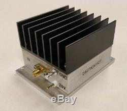 New, 5 W, 10 MHz to 1200 MHz, 42 dB Gain, Broadband RF Power Amplifier