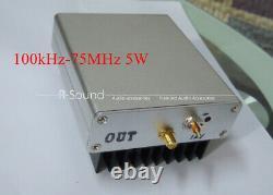Power Amplifier 100kHz-75MHz 5W RF Broadband Amplifier Linear Power Amplifier