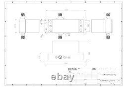 Power Amplifier 4W 2300 to 2400 MHz 35.5dB Gain 36dBm P3dB SMA