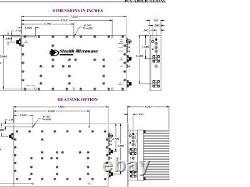 Power amplifier SM1923-44L 25 Watt 1900-2300 MHz