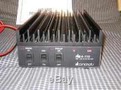 RF Concepts RFC4-110 70cm 430-450 MHz HAM Amplifier 10W in 100W out CW, SSB, FM