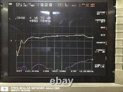 RF POWER AMPLIFIER UHF 450W 16DB Gain 350-900 Mhz MRF 377H TESTED