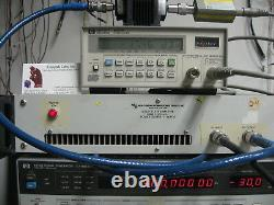 RF Power Amplifier 1-500 MHz 2Wt 40dB Gain TESTED! US MADE ENI 503L replacement