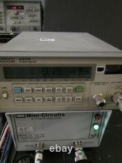 RF Power Amplifier 500 kHz to 1000 MHz 4 Wt TESTED! Mini-Circuits TIA-1000-1R8