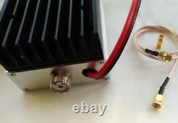 RF UHF Power Amplifier 400-470MHz Half-duplex 40W Walkie Talkie Amp DMR DPMR P25