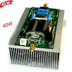 Shortwave RF Power Amplifier 50W RF HF Linear Amp 2-54MHz for Ham Radio