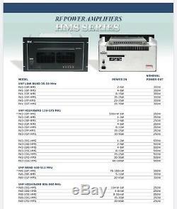 TPL 300 WATT UHF 451-462 Mhz RADIO BASE REPEATER POWER AMPLIFIER PA6-2BF-HMS