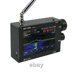 Thicker 3.5 50KHz-200MHz Malachite DSP SDR Receiver Shortwave Radio Nice Sound