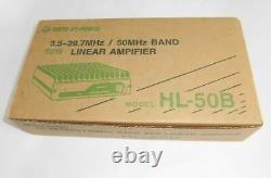 Tokyo High Power HL-50B 50W HF / 50MHz Linear Amplifier Amateur Ham Radio Unused
