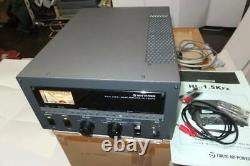 Tokyo Hy Power HL-1.5KFX HF/50MHz Linear Amplifier Used confirmed it works