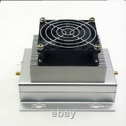 UHF 400-470MHZ 433MHZ 40W Ham Radio Power Amplifier Interphone + Heatsink + Fan