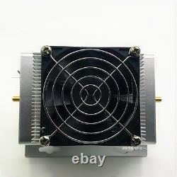 UHF 400-470MHZ 433MHZ 50W Ham Radio Power Amplifier Interphone + Heatsink + Fan