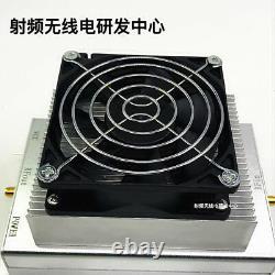 UHF 850-960MHz 915MHz 30W Ham Radio Power Amplifier Interphone + Heatsink + Fan