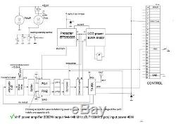 VHF 2m power amplifier LDMOS BLF188XR 144 MHz 2000W KIT